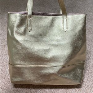 Bloomingdales exclusive Gold Tote! 😍